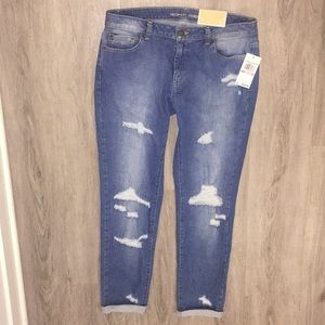 NWT Michael Kors cute ripped jeans size 6 women's